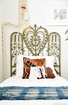 Vintage Revivals | Well That's A Headboard of a Different Color!