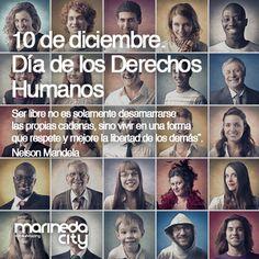 Hoy, 10 de diciembre, día de los #DerechosHumanos no queremos olvidarnos de #NelsonMandela