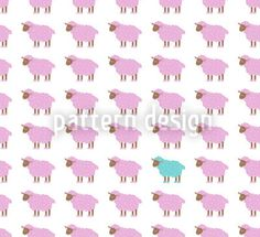 There is no black sheep! Cute sheep heard design on a white background. Textile Patterns, Textiles, Cute Sheep, Repeating Patterns, Vector Pattern, Surface Design, Baby Shower, Black Sheep, Green