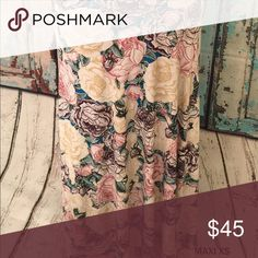 Floral maxi skirt /dress XS LuLaRoe Skirts Maxi