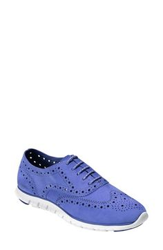 Cole Haan 'ZerøGrand' Perforated Oxford (Women) available at #Nordstrom