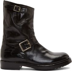 Officine Creative | Leather Canyon Boots.