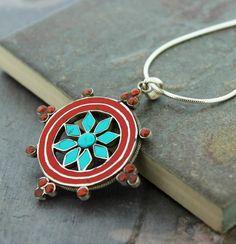 Dharmashop.com - Sterling Silver Tibetan Dharma Wheel Pendant , $46.00 (http://www.dharmashop.com/sterling-silver-tibetan-dharma-wheel-pendant/)