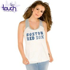 Boston Red Sox - Team Sparkle Swing Tank