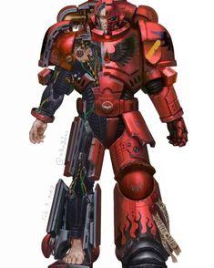 Primaris power armour cut through by Oscar Obando Warhammer 40k Blood Angels, Warhammer 40k Memes, Warhammer 40k Figures, Warhammer Art, Warhammer Models, Warhammer 40k Miniatures, Warhammer Fantasy, Warhammer 40000, Space Marine