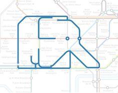倫敦地鐵藏了22種動物