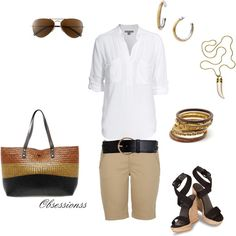 Cute day outfit, created by obsessionss