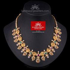 Gold Jewelry For Wedding Gold Mangalsutra Designs, Gold Earrings Designs, Necklace Designs, Gold Designs, Gold Wedding Jewelry, Gold Jewelry, Emerald Jewelry, Jewellery, Pearl Jewelry