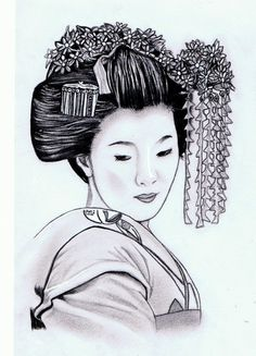 Geisha Girl by AZIZA-FEMI.deviantart.com on @deviantART