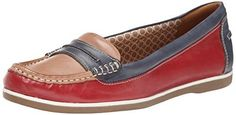 $39.50 Naturalizer Women's Hamilton Boat Shoe - Convenient and comfortable with good look.
