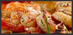 Healthy, delicious garlic recipes with pictures and cooking tips. Let Garlic Shaker show you how to easily prepare mouth-watering dishes. These healthy recipes are big on garlic flavor. Garlic Recipes, Fish Recipes, Seafood Recipes, Paleo Recipes, Asian Recipes, Crockpot Recipes, Great Recipes, Dinner Recipes, Cooking Recipes