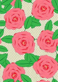 Rose by Lydia Meiying, via Behance