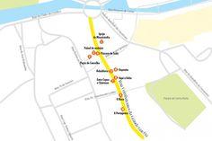 Rua Combatentes da grande guerra e a Rua de João Mendonça são as duas ruas de Aveiro que vale a pena conhecer.