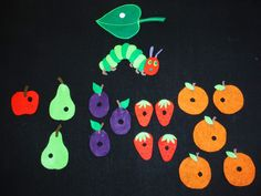 Library Lalaland: The Very Hungry Caterpillar Flannelboard