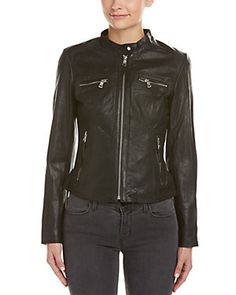 Leather jackets should be unzipped. Rue La La — It's Leather ...