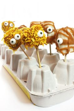 Take a break from the candy and make Frozen Banana Mummies.