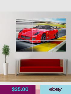 Bmw London M4 Alfa Laval Outbound Cars Giant Posters