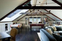 7 best loft conversion games room images attic spaces playroom rh pinterest com