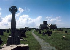 St Materiana's Church, Tintagel, from the lower entrance