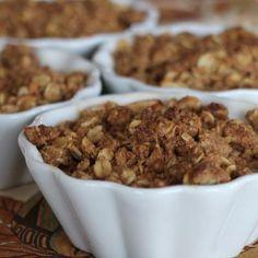 gluten-free apple cinnamon oatmeal crisp