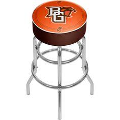 Trademark Gameroom Bowling Green State University Padded Swivel Bar Stool