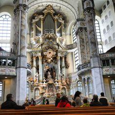 die #orgel der #frauenkirche