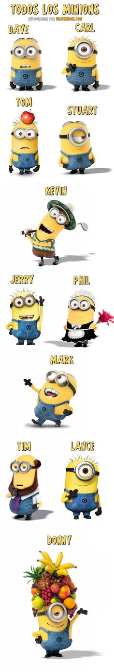 All the Minions. All the Minions. The post All the Minions. appeared first on Paris Disneyland Pictures. Amor Minions, Minion Jokes, Minions Love, Minions Despicable Me, My Minion, Minions Quotes, Funny Minion, Minion Birthday, Minion Party