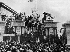 Demonstration for Iranian Premier Mohammed Mossadegh