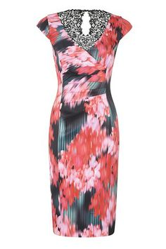 Vibrant Floral Printed Lace Dress http://www.weddingheart.co.uk/alexon---mother-of-the-bride.html