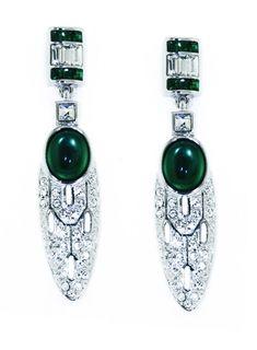 Art Deco Vert Earrings - V - The Victoria and Albert Museum, London ...753 x 1024328.6KBwww.inspiredtreasures.co.uk