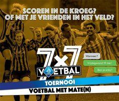 Klazienaveen zoekt teams voor 7×7 toernooi (m/v) op 19 mei