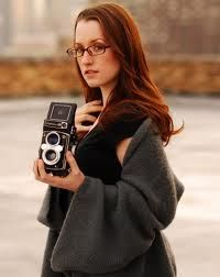 Ingrid Michaelson - I heard her music before I knew who she was.  Then, I saw her on one of my favorite TV shows, 'Shark Tank'.  She was there helping to pitch an 'App' that helps one learn how to play music.  A great musician AND entrepreneur!