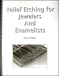 Anyone thinking of setting up to etch metal... regardless of method... should read this first. Lots of good safety info. Relief Etching for Jewelers and Enamelists  - By Coral Shaffer  I highly recommend this for anyone etching metal... for enameling or not. Buy it from Coral at enamelworksupply.com