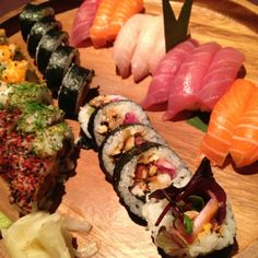 Sticks and sushi wimbledon