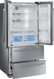 Buy Smeg American Fridge Freezer Stainless Steel from Appliances Direct - the UK's leading online appliance specialist Top Freezer Refrigerator, French Door Refrigerator, Stainless Steel Appliances, Kitchen Appliances, Kitchens, American Fridge Freezers, Smeg Fridge, Condo Decorating, House Rooms