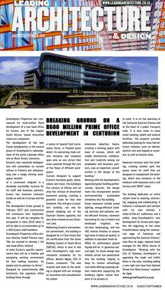 #Exxaro #Growthpointproperties #Centurion #Lakeside #AmaArchitects #Architecture #LeadingArchitecture&Design The Centurions, 2017 Design, Public Transport, Architecture, Transportation, Arquitetura, Architecture Design