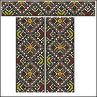 Gallery.ru / Фото #54 - схемы для вышиванок - zhivushaya