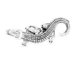 Alligator Charm Silver Character