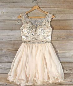 Cute A-Line Round Neck Short Homecoming/Prom Dress with Beading
