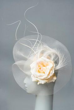Stephanie King Millinery by Stephanie King , via Behance