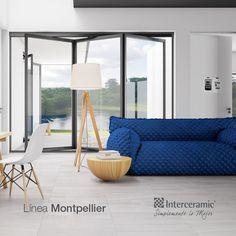 Cuando adquieres un #piso #Interceramic, adquieres calidad y elegancia. Esto aplica en todos los productos incluyendo la #nueva sensación en decoración: Montpellier.