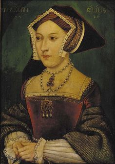 Jane Seymour -- -- From the workshop of Hans Holbein the Younger -- Kunsthistorisches Museum -- Vienna, Austria Charles Brandon, Charles Quint, Anne Boleyn, Anne Of Cleves, Tudor History, British History, Art History, European History, Hans Holbein Le Jeune