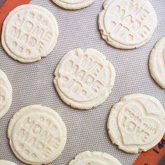 Stamped shortbread cookies -use this recipe to make cut out, pressed or stamped shortbread cookies. These cookies are so easy to make with only 4 ingredients, melt in your mouth, and turn out beautiful every time. These shortbread cookies are the perfect cookie to make when you're wanting to make cookies last minute. They are …