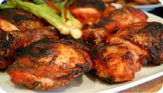 Tandoori Chicken recipe. How to cook Tandoori Chicken, Calories