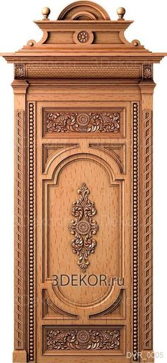 Doors made of wood. Carved products, Four forces. Doors made of wood. Single Door Design, Wooden Front Door Design, Door Gate Design, Wooden Doors, Cottage Front Doors, Antique Bookcase, Classic Doors, Cool Doors, Entrance Doors