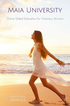 Maia University - Online Education for Visionary Women. Empowering leaders in women's health, birth, business, spirit and life. Learn more at: http://www.karamariaananda.com/maia