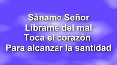 SANAME SEÑOR (+lista de reproducción)