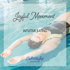 Joyful Movement - Intuitive EatinWhen we put weight loss on the back burner and actually focus on how joyful movement helps us feel more energized, makes us extra happy, promotes our heart health - and more - it can be way more motivating to obtain physical activity more regularly. Intuitive Healing, Intuitive Empath, Mindful Eating Quotes, Take Care Of Your Body, Body Image, Going To The Gym, Diet And Nutrition, Health Coach, Physical Activities