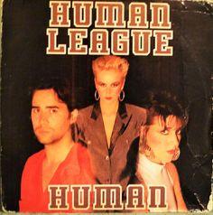 Human League  Human Single 1986  LP / Album/Vinyl   by DorenesXXOO
