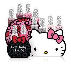 Hello Kitty by OPI - Hey Pretty